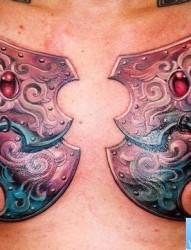 男性纹身图片  花臂花卉纹身图片 手臂中国石狮子纹身图片 手臂帅气图片
