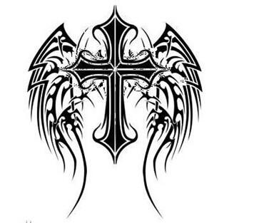 经典时尚的十字架纹身第3页(4/4)