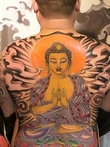 如来佛纹身_如来佛纹身图案大全_如来佛纹身手稿_如来图片