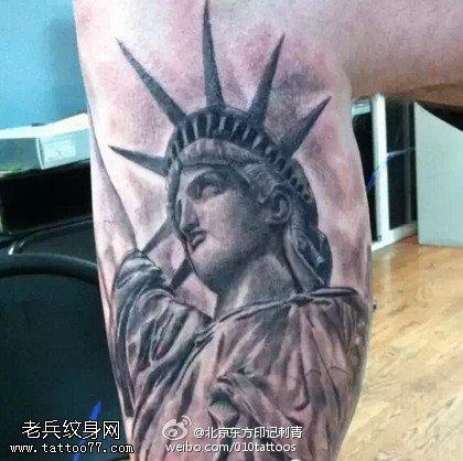 自由女神纹身图片图片