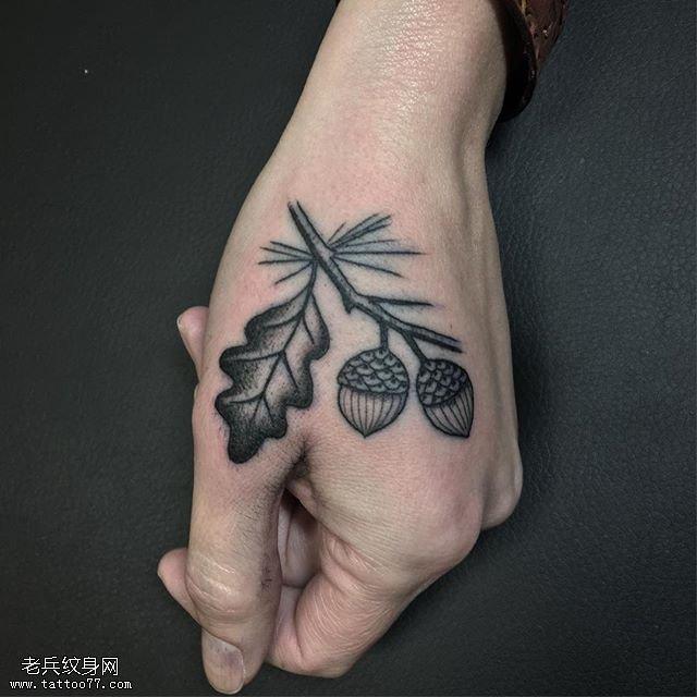 手上纹身图片_纹身图案