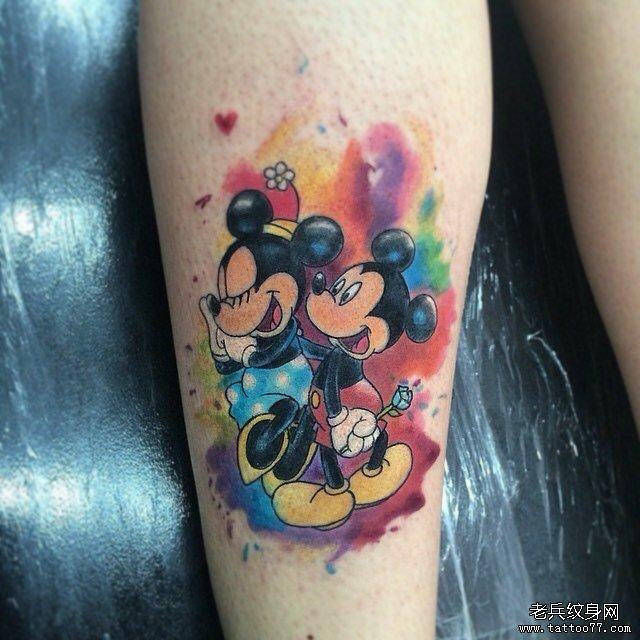 米老鼠纹身图片图片