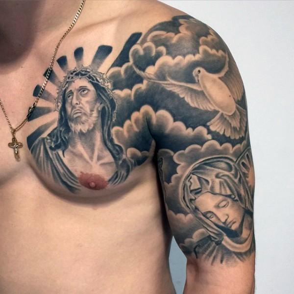 宗教纹身_宗教纹身图案大全_宗教纹身手稿_宗教纹身