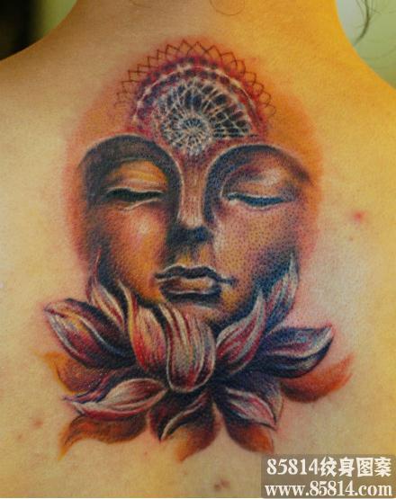 佛纹身_佛纹身图案大全_佛纹身手稿_佛纹身图片 - 858