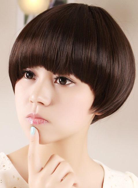 2014女生最新锅盖头短发图片[5P]