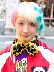 """日本街拍另类锅盖头 彻底颠覆你的""""发型观""""[3P]"""