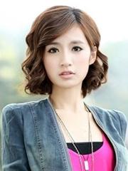 美丽迷人的女生荷叶头发型图片[5P]
