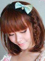 流行齐肩短发发型设计图片[10P]