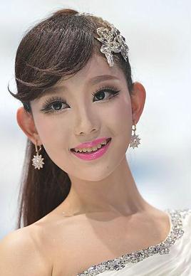 """2014年北京車展模特發型之""""最""""[10P]"""