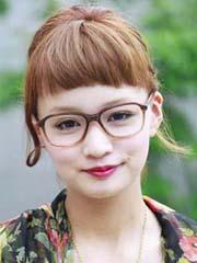 什么刘海显年轻 短刘海发型图片女[11P]