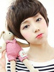 今年最流行的日系女生短发[4P]