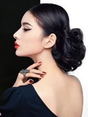 中长发怎么扎高贵有气质[7P]