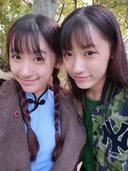 復旦雙胞胎姐妹花私照發型大放送[9P]