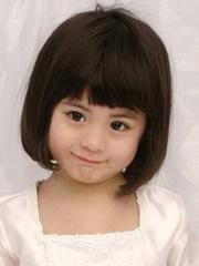 可爱好看的小女孩发型图片 短发bob头+长发绑扎[8P]