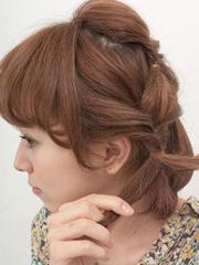 图解韩式波波头短发怎么扎好看[8P]