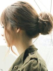 韩式花苞头扎法效果图 高低位气质各不同[5P]