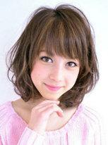 慵懒系荷叶头发型图片 减龄修颜[6P]