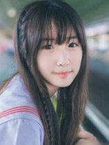 清新妹子中長自然直發圖片[5P]