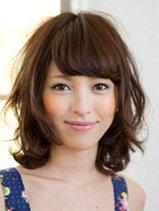 最受欢迎的中长卷发发型图片[5P]