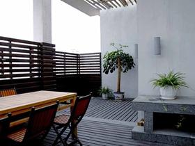 创新中式二居室装修案例