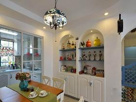 地中海风格二居室装修效果图大全