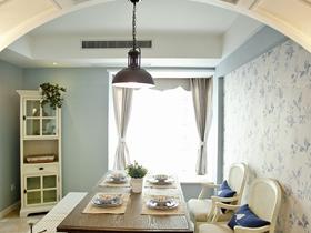 唯美时尚欧式家居二居室装潢设计