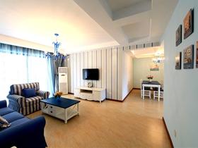 地中海风格两室两厅装修案例