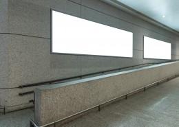 機場空白廣告牌海報圖片_16張