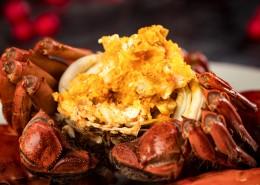 美味又蟹黃的大閘蟹圖片_8張
