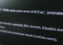 電腦屏幕上復雜的代碼圖片_10張