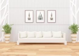 簡約客廳設計圖片_9張