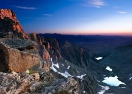 綿延不斷雄偉的高山自然風景圖片_9