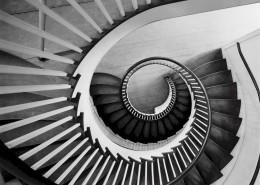 螺旋式的樓梯圖片_10張