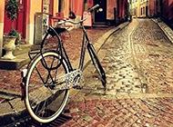 街道迷人复古欧美风景图片