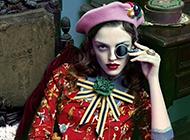 时尚复古欧美风美女写真高清壁纸