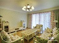 120平方米三室两厅韩式风格装修效果图欣赏