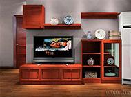 古典中式电视墙效果图欣赏