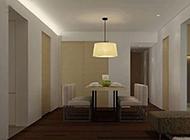 150平豪华公寓简欧装修效果图