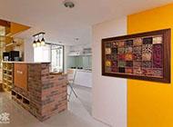 80平方米溫暖明亮的躍層式住宅圖片