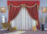 高调华丽的窗帘效果图