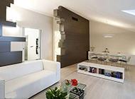 意大利現代時尚復式公寓裝修效果圖
