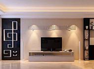 時尚歐式簡約客廳背景墻大氣奢華