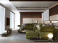 欧式沉稳开放式公寓装修风格