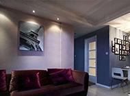 80平方現代簡約公寓裝修效果圖