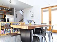 復式公寓極簡混搭裝修效果圖潮流時尚