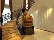 高調奢華的樓梯裝修效果圖