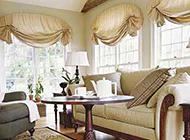 时尚美观的飘窗窗帘效果图