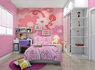 梦幻可爱的儿童房装修效果图