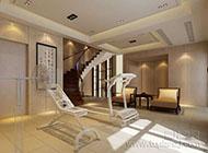 华丽高大上的复式楼梯装修效果图