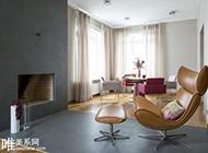 兩款素雅清新舒適二居室裝修效果圖